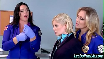 (alison&charlotte&julia) Horny Lez Get Punish With Toys By Mean Lesbo Clip-11