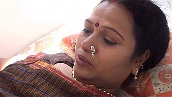 Indian milf foreplay massage