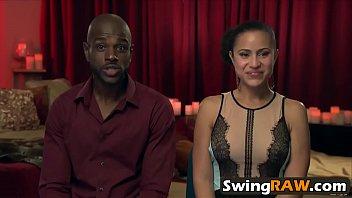 interracial swingers orgie