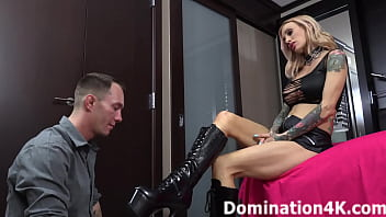 Foot domination and humiliation time!