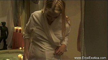 Pregnant Married MILF Explores Sex