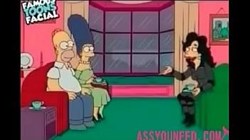 zadarmo Simpsonovci karikatúra porno videá