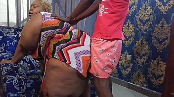 KingJuninho Banged her Stepmum AfricanChikito