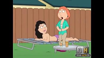 mega griffin lesbické porno