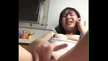 Chinese GF Phone sex with me - taiwancamgirls.com