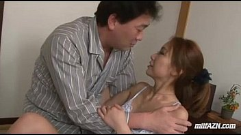 Skinny Milf Getting Her Tits Rubbed Pussy Fingered By Her Husband On The Mattres