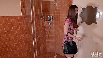 Gorgeous Coed Stella Cox gets her Ass & Pussy Rocked Hard