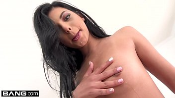 Watch Gina Valentina likes fingers in her ass preview