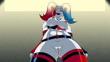 Harley quinn sex colsplay