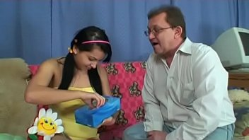 sweet chick rough fucked by daddy