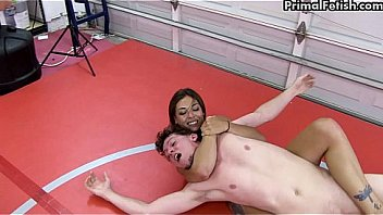 Nude Wrestling Supremacy - Ladies Dominate Men!