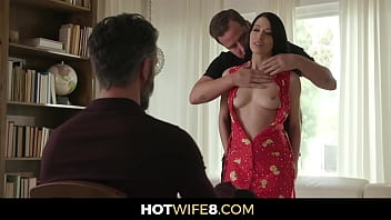 Horny Married Woman Gets Permission To Fuck A Stranger