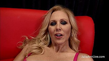 Blonde Milf Julia Ann loves to suck cock, in this member's only exclusive video Julia gets to suck on a fat cock! See the full unedited video only available at JuliaAnn.com! Thumbnail