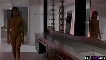 Sexy Anni Angel bumst mit Freier im Hotelzimmer