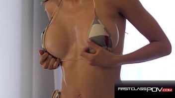Heather Vahn In Hot Bikini Fucks Lucky Guy