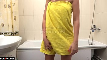 A delightful body of 18 year old blonde Milana Blanc