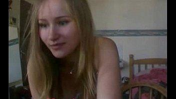 Blonde Swedish teen STRIPS NAKED www.cum18.com