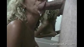 Beautiful wife gives blow job creampie apologise