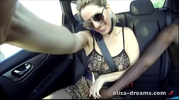 Married woman fucked by a white guy outdoor