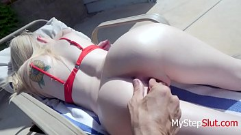 Fucking my DAUGHTER By The Pool