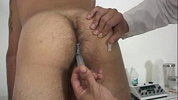 College guy gets a physical exam on camera gay Dr. Phingerphuk had me