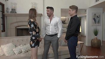 Voyeur boyfriend wants to watch Jillian Jenson has sex with a stranger