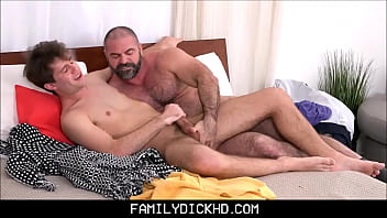 Step Dad Is A Horny Pervert Twink