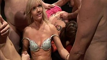 Large gangbang video archive