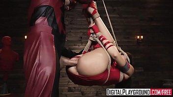 DareDevil fucks Electra tied up