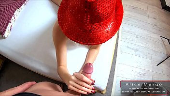 Anal Plug in Her AssHole! Sexy FootJob and Big Cum in Ass! Creampie! AliceMargo.com Thumbnail