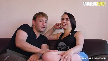 AMATEUR EURO - Deutsche Amateur Pueppy Xtrem Record A Sex Tape With Her Hubby