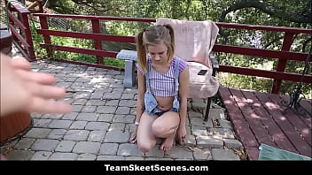 Sexy baby sitter gets fucked