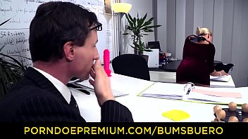 Watch BUMS BUERO - Stunning blonde hardcore sex with boss preview