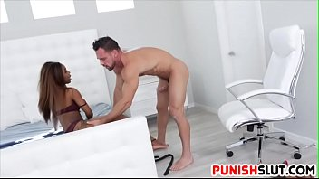 Watch Hard Anal Fuck For Ebony Babe preview