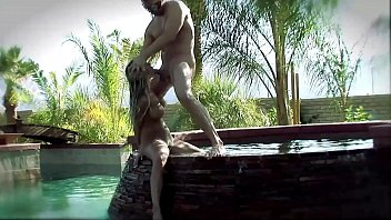 Watch Big Boobs Blonde MILF rides the Big Fat White Cock in her Rich and Luxury Mansion´s Big Pool go with Rimjob, Blowjob and all positions well from 69 to Ass Licking and ends up with a Facial Cumshot preview