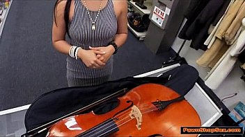 Brazilian MILF Vanessa turns cock into a musical instrument Thumbnail