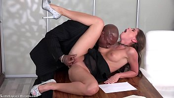 Suck a big black cock first time before he fuck me so good in my pussy - yes its my first time