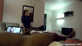 NICHE PARADE - Motel Housekeeper Finds Me Naked On The Bed With Dick In Hand