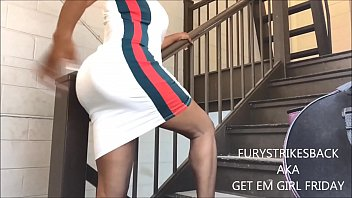 A CREAMY SQUIRT IN PUBLIC: #TAKETHESTAIRS4 FROM HURRICANE FURY