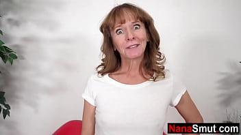 Slim granny fucks her step grandson