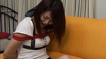 Self-bondage - Japanese Damsel in Distress