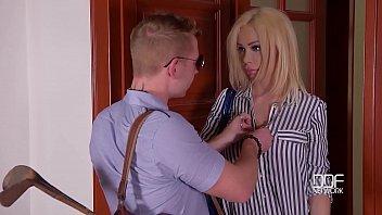 Blondie Chessie Kay's big tits...