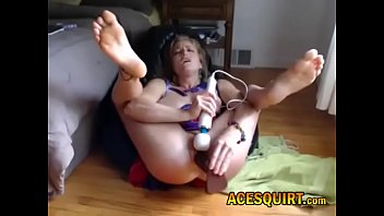 Watch play now at ACESQUIRT.com only u can make hot milf spread wet pussy like dat on the floor then work it til moist she might squirt alot Google ACESQUIRT for live action preview