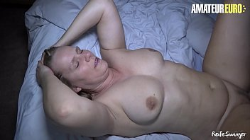 AMATEUR EURO - Cheeky BBW Amateur Sweet Susi Blows And Bangs With Hubby On Their First Sex Tape Ever