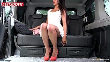 Fake Taxi driver abuses Little Asian Model - LETSDOEIT.COM