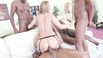 interracial foursome dap orgy gets emily thorn 039 s ass filled with black cocks