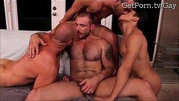 Super Horny Gay Foursome Porn Clips
