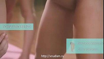 Naked girls gymnasts trained well (www.xnudism.ru - girls nudists)