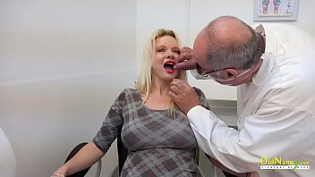 Nasty clinic nurse pussy licking and toysex action