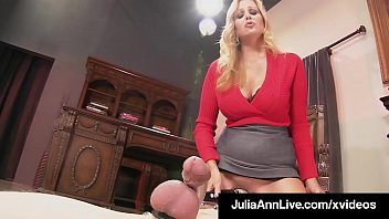 Beautiful Big Boobed Milf Julia Ann submits her Boy Toy to a blue ball No Cum Lesson, where she teases & taunts with her perfect body! Not until I say! FullVideo & JuliaLive @JuliaAnnLive.com